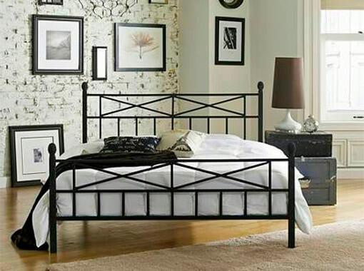 Кровать из металлопрофиля