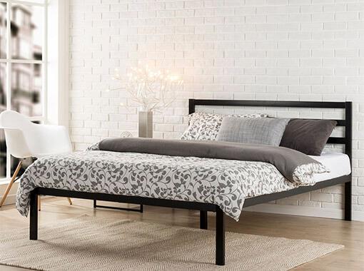 Кровать из задней спинки