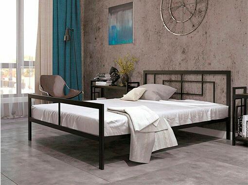 Кровать из металлического профиля