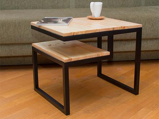 стол с двойной столешницей