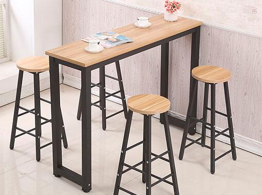 Металлический барный стол