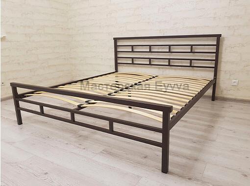 Кровать темный шоколад