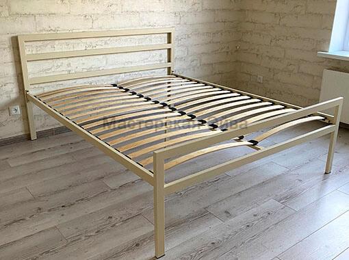 Кровать двухспальная слоновая кость