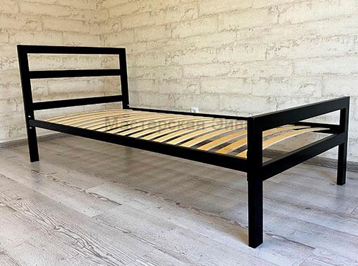 Кровать в стиле лофт односпальная