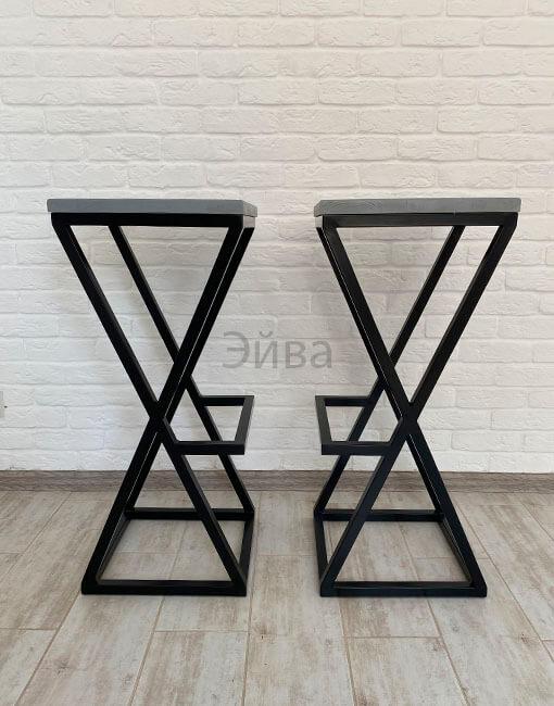 барные стулья серый