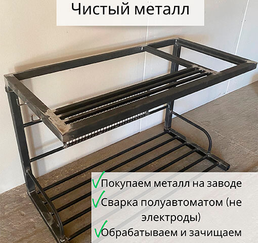 металл без ржавчины