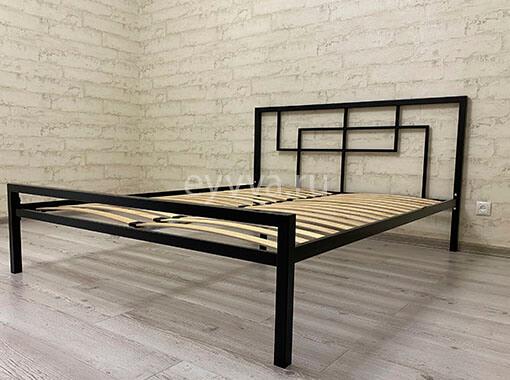 кровать в стиле лофт двуспальная