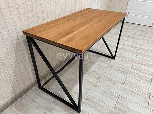 металлический стол лофт